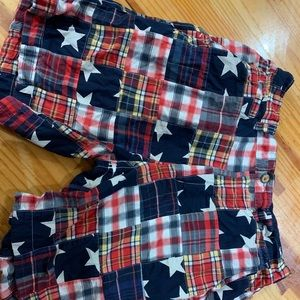 Men's linen American flag pants size 34